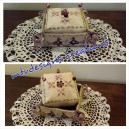 Arborea Pincushion and Sewing Basket