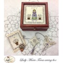 Lady Maria Teresa Sewing Box & Accessories